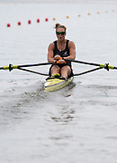 Poznan, POLAND, 21st June 2019, Friday, Morning Heats, NZL W1X, Emma TWIGG, FISA World Rowing Cup II, Malta Lake Course, © Peter SPURRIER/Intersport Images,<br /> <br /> 11:57:02