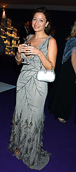 REBECCA LOOS at The British Red Cross London Ball - H2O The Element of Life, held at The Room by The River, 99 Upper Ground, London SE1 on 17th November 2005.<br />