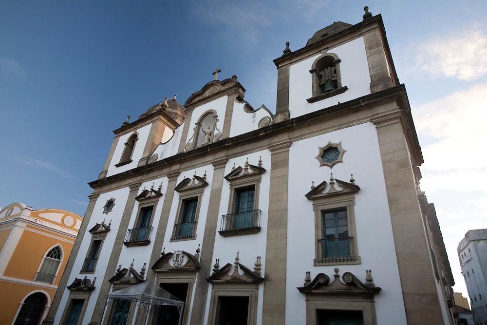 Recife_PE, Brasil..Igreja da Madre de Deus em Recife, Pernambuco...Madre de Deus Church in Recife, Pernambuco...Foto: JOAO MARCOS ROSA / NITRO