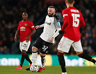 Wayne Rooney of Derby County moves forward during the FA Cup match at the Pride Park Stadium, Derby. Picture date: 5th March 2020. Picture credit should read: Darren Staples/Sportimage