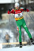 Biathlon, 02. december 2004, World Cup, Beitostolen,    Vadim Sashurin, BLR