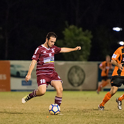 BRISBANE, AUSTRALIA - MAY 20:  during the round 12 Flight Centre Brisbane Premier League match between Eastern Suburbs and Logan Lightning on May 20, 2017 in Brisbane, Australia. (Photo by Patrick Leigh Perspectives)