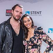 NL/Gouda/20201012 - Premiere Murder Ballad, Romy Monteiro en partner Jasper Suyk