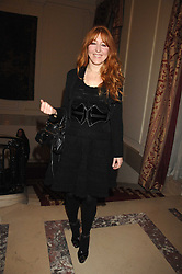 CHARLOTTE TILBURY at a party to celebrate the publication of The End of Sleep by Rowan Somerville held at the Egyptian Embassy, London on 27th March 2008.<br /><br />NON EXCLUSIVE - WORLD RIGHTS