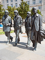 The Beatles Statue arrived on Liverpool's Waterfront in December 2015. Donated by the  Cavern Club,