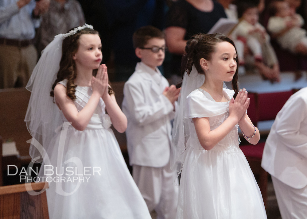 First Communion May 2, 2015 1:00 PM Service at St Ann Neponset Dan Busler Photography Walpole MA 781-352-4863