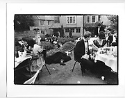 New College May Ball. Oxford. June 1986.
