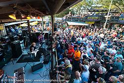 David Allen Coe plays the Iron Horse Saloon in Ormond Beach during Daytona Bike Week. FL, USA. March 10, 2014.  Photography ©2014 Michael Lichter.