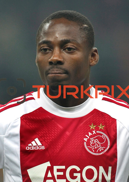 Ajax's Eyong ENOH during their Friendly soccer match Galatasaray between Ajax at the Turk Telekom Arena at Arslantepe in Istanbul Turkey on Saturday 15 January 2011. Turkish soccer team Galatasaray new stadium Turk Telekom Arena opening ceremony. Photo by TURKPIX