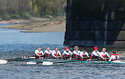 Mortlake/Chiswick, GREATER LONDON. United Kingdom. No. 236. Mystery Crew , competing in the 2017 Vesta Veterans Head of the River Race, The Championship Course, Putney to Mortlake on the River Thames.<br /> <br /> <br /> Sunday   26/03/2017<br /> <br /> [Mandatory Credit; Peter SPURRIER/Intersport Images]