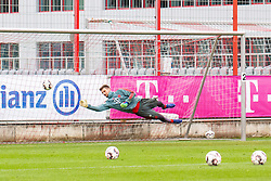 14.03.2019, Säbener Strasse, Muenchen, GER, 1. FBL, FC Bayern Muenchen vs 1. FSV Mainz 05, Training, im Bild Sven Ulreich (FC Bayern) // during a trainings session before the German Bundesliga 26th round match between FC Bayern Muenchen and 1. FSV Mainz 05 at the Säbener Strasse in Muenchen, Germany on 2019/03/14. EXPA Pictures © 2019, PhotoCredit: EXPA/ Lukas Huter