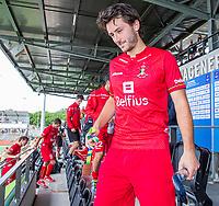 AMSTELVEEN - Brons voor Arthur van Doren (Bel)   na  de heren -wedstrijd om de 3e plaats ,  Engeland-Belgie (2-3)  bij het  EK hockey , Eurohockey 2021. COPYRIGHT KOEN SUYK