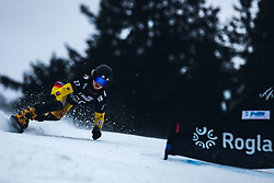 LANGENHORST Carolin (GER) during FIS alpine snowboard world cup 2019/20 on 18th of January on Rogla Slovenia<br /> Photo by Matic Ritonja / Sportida