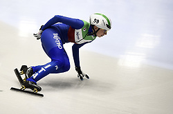 February 8, 2019 - Torino, Italia - Foto LaPresse/Nicolò Campo .8/02/2019 Torino (Italia) .Sport.ISU World Cup Short Track Torino - 3000 meter Ladies Relay Quarterfinals.Nella foto: Lucia Peretti..Photo LaPresse/Nicolò Campo .February 8, 2019 Turin (Italy) .Sport.ISU World Cup Short Track Turin - 3000 meter Ladies Relay Quarterfinals.In the picture: Lucia Peretti (Credit Image: © Nicolò Campo/Lapresse via ZUMA Press)