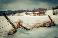 A Favorite Farm on a Winter's Day