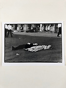 7 x 5 working print. Sleeping couple, Magdalen May Ball, Oxford 1988. marked  September 1988 reject. A slightly different frame to this one was chosen for the sleepers Box and  Burberry exhibition last  year.
