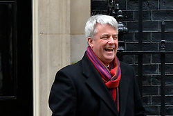 © Licensed to London News Pictures. 22/01/2013. Westminster, UK Leader of the Commons.Andrew Lansley. Politicians at Cabinet Meeting on Downing Street this morning 22 January 2012. Photo credit : Stephen Simpson/LNP