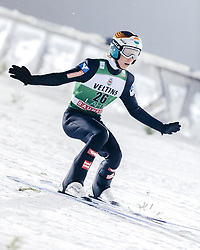 February 8, 2019 - Lahti, Finland - Jan Hörl participates in FIS Ski Jumping World Cup Large Hill Individual training at Lahti Ski Games in Lahti, Finland on 8 February 2019. (Credit Image: © Antti Yrjonen/NurPhoto via ZUMA Press)