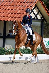 Dujardin Charlotte, GBR, Gio<br /> CDI4* Horses and Dreams meets Japan Sports Hagen a.T.W. 2021<br /> © Hippo Foto - Stefan Lafrentz<br />  22/04/2021