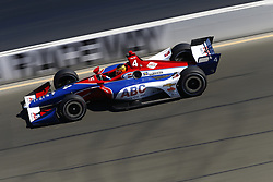 September 15, 2018 - Sonoma, California, United Stated - MATHEUS LEIST (4) of Brazil takes to the track to practice for the Indycar Grand Prix of Sonoma at Sonoma Raceway in Sonoma, California. (Credit Image: © Justin R. Noe Asp Inc/ASP via ZUMA Wire)