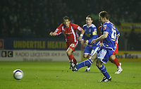 Photo: Steve Bond/Richard Lane Photography. Leicester City v Leyton Orient. Coca Cola League One. 10/01/2009. Paul Dickov strokes home the penalty