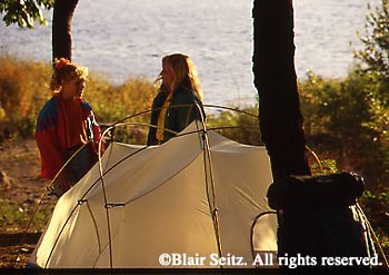 Camping Outdoor recreation, Family Tenting, Susquehanna River, PA