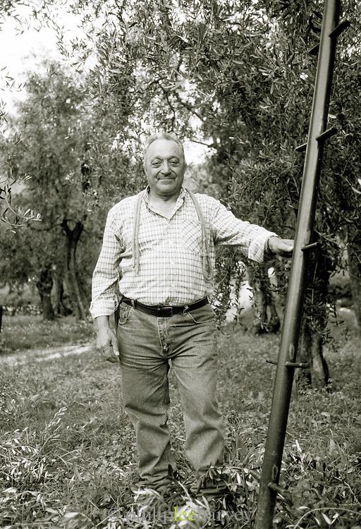 Portrait of a Lemon Farmer, Limonde Sul Garda, Lake Garda, Italy