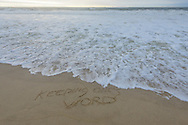 Keeping the Word, Sagg Main Beach, Sagaponack, Long Island, NY