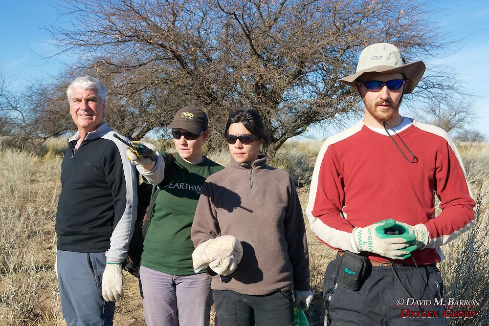 Scott, Claudia, Miriam & Greg