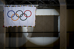 September 21, 2016 - Tokyo, Tokyo, Japan - Olympic and Paralympic Flag-Raising ceremony organized by the Tokyo Metropolitan Government and the Organizing Committee of Tokyo 2020. (Credit Image: © Alessandro Di Ciommo via ZUMA Wire)
