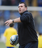 Football - Crystal Palace v Preston North End  03/01/2011 David Unsworth - Preston caretaker manager.  Credit : Colorsport / Andrew Cowie