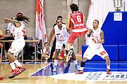 DESCRIZIONE : Desio Lega A 2013-14 EA7 Emporio Armani Milano Giorgio Tesi Pistoia<br /> GIOCATORE : Meini Guido<br /> CATEGORIA : Palleggio<br /> SQUADRA : Giorgio Tesi Pistoia<br /> EVENTO : Campionato Lega A 2013-2014<br /> GARA : EA7 Emporio Armani Milano Giorgio Tesi Pistoia<br /> DATA : 04/11/2013<br /> SPORT : Pallacanestro <br /> AUTORE : Agenzia Ciamillo-Castoria/M.Mancini<br /> Galleria : Lega Basket A 2013-2014  <br /> Fotonotizia : Desio Lega A 2013-14 EA7 Emporio Armani Milano Giorgio Tesi Pistoia<br /> Predefinita :