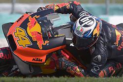 February 7, 2019 - Sepang, Malaysia - Red Bull KTM Factory Racing's rider Pol Espargaro of Spain takes a corner during the second day of the 2019 MotoGP pre-season testing at Sepang International Circuit February 7, 2019. (Credit Image: © Zahim Mohd/NurPhoto via ZUMA Press)