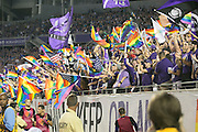 MLS Game, Orlando City v San Jose Earthquake, Orlando City dedicate match to Pulse nightclub Shootings In Orlando.  <br /> 06-18-16.<br /> . <br /> Orlando, Florida, USA.<br /> Picture  Mark Davison for DailyMail.com<br /> Saturday 18th June 2016.