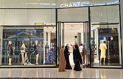 Chanel store in Dubai Mall in Dubai in United Arab Emirates