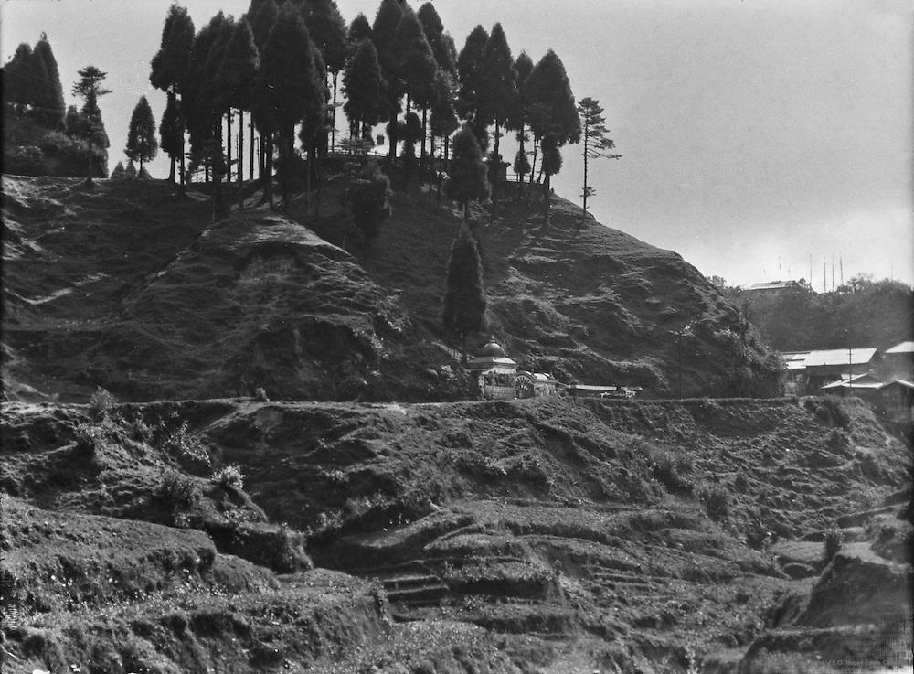 Temple, Darjeeling Road, Darjeeling, India, 1929