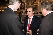 JACOB REES-MOGG; LORD HARRY DALMENY, The preview of LAPADA Art and Antiques Fair. Berkeley Sq. London. 21 September 2015.
