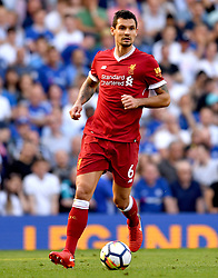 Liverpool's Dejan Lovren during the Premier League match at Stamford Bridge, London.