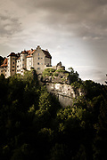 Nathan Smith on Inshalla 8+/5.12a, Burg Rabenstein, Frankenjura, Germany