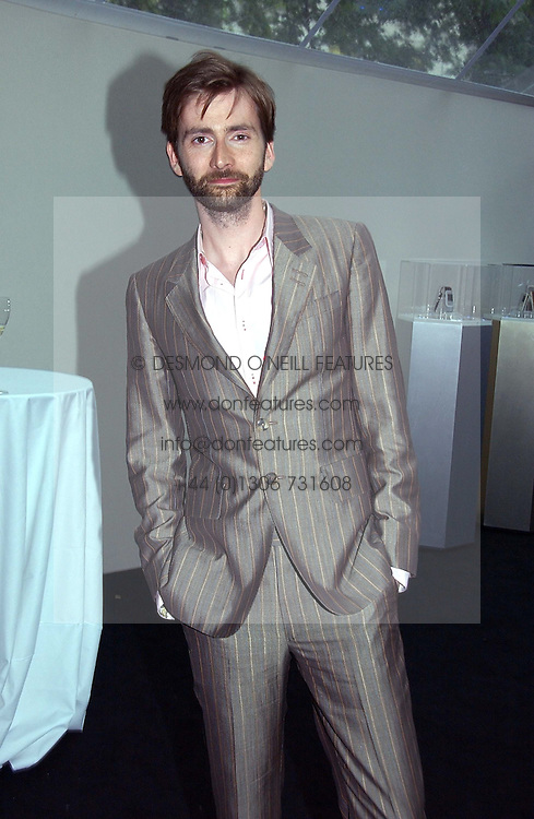 Actor DAVID TENNANT at the 2006 Glamour Women of the Year Awards 2006 held in Berkeley Square Gardens, London W1 on 6th June 2006.<br /><br />NON EXCLUSIVE - WORLD RIGHTS
