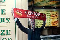 Football - 2018 / 2019 Premier League - Liverpool vs. Tottenham Hotspur<br /> <br /> Fast food with a local slant on sale before the game, at Anfield.<br /> <br /> COLORSPORT/ALAN MARTIN