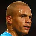Football - Premier League - Manchester United vs. Sunderland<br /> Wes Brown of Sunderland and Danny Welbeck of Manchester United at Old Trafford