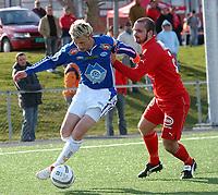 NM i fotball 2. runde Kolstad - Molde 1-2<br /> Kai Røberg og Erlend Meder<br /> Foto: Carl-Erik Eriksson, Digitalsport