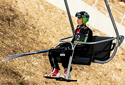 Jurij Tepes (SLO) during the Ski Flying Hill Individual Competition at Day 2 of FIS Ski Jumping World Cup Final 2019, on March 22, 2019 in Planica, Slovenia. Photo by Masa Kraljic / Sportida