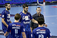 Patrice Canayer / groupe Montpellier - 05.03.2015 - Montpellier / Cesson Rennes - 17eme journee de Division 1<br />Photo : Andre Delon / Icon Sport