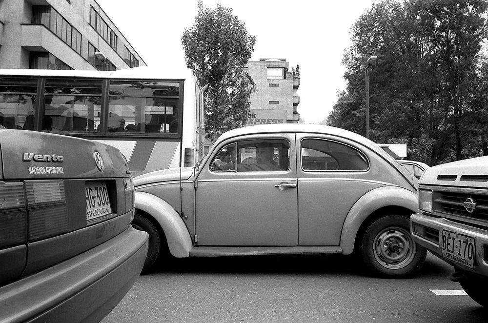 Volkswagen Beetle in Bogota Colombia