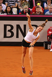 20.04.2013, Porsche-Arena, Stuttgart, GER, Fed CUP, Playoff, Deutschland vs Serbien, im Bild Mona BARTHEL (GER), Mona BARTHEL (GER) vs Ana IVANOVIC (SRB) // during the Fed Cup World Group Playoff between Germany and Serbia at the Porsche-Arena, Stuttgart, Germany on 2013/04/20. EXPA Pictures © 2013, PhotoCredit: EXPA/ Eibner/ Eckhard Eibner..***** ATTENTION - OUT OF GER *****