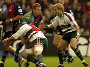 Twickenham, Surrey,Great Britain, 16th October 2004, Zurich Premiership Rugby, Harlequins vs Leicester Tigers, Twickenham Stoop,   [Mandatory Credit Peter Spurrier/Intersport Images]