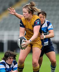 - Rogan Thomson/JMP - 08/10/2016 - RUGBY UNION - Kingston Park - Newcastle, England - Darlington Mowden Park Sharks v Bristol Ladies Rugby - RFU Women's Premiership.
