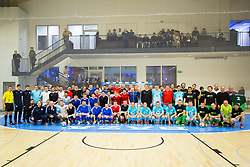Opening event of Sports hall Baza, on January 8, 2018 in Sports hall Baza, Ljubljana, Slovenia. Photo by Ziga Zupan / Sportida